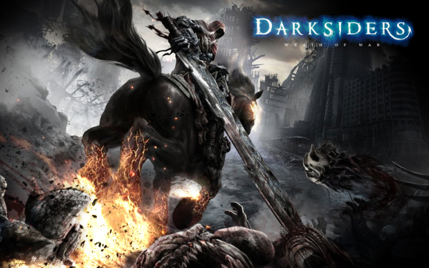 Darksiders War artwork. Sequel coming in 2012