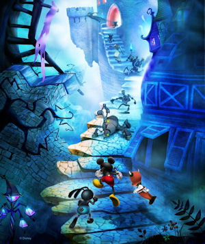Disney Epic Mickey artwork