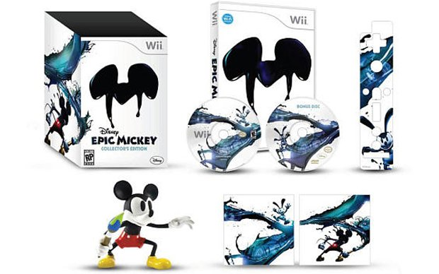 Disney Epic Mickey Collector's Edition picture