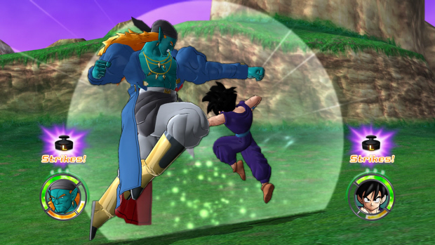Dragon Ball Raging Blast 2 screenshot