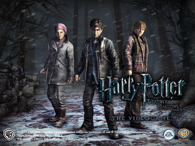 Harry Potter and the Deathly Hallows Part 1 Videogame