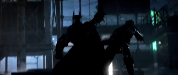Batman: Arkham City screenshot glimpse of the Bat