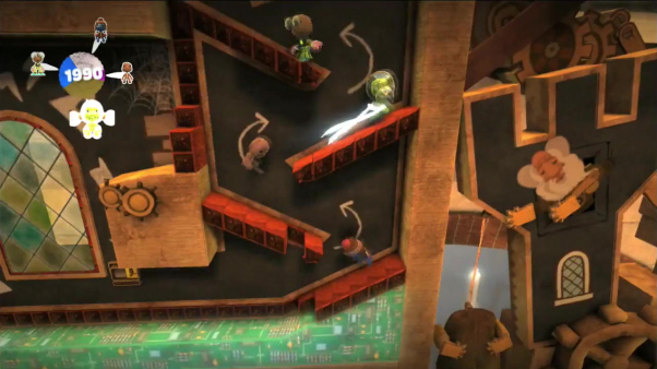 LittleBigPlanet 2 How to Build A Level screenshot