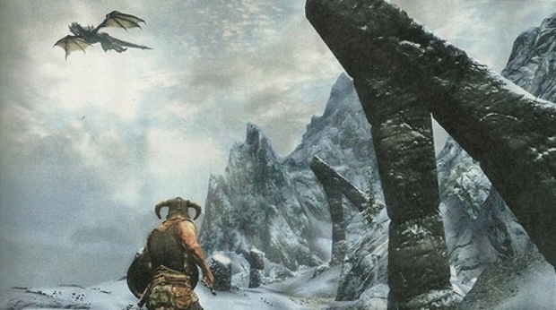 Skyrim screenshot gameplay (Xbox 360, PS3, PC)