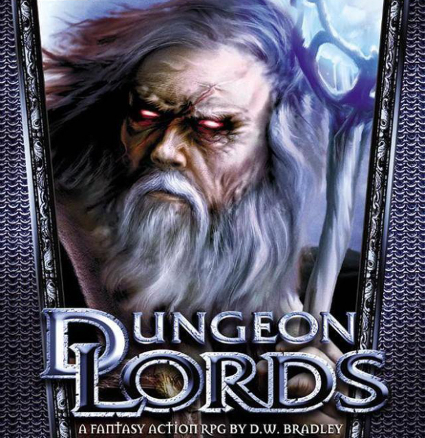 Dungeon Lords walkthrough box artwork (PC, Mac)