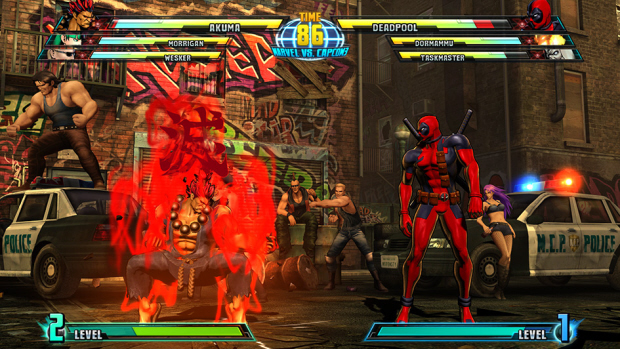 Marvel vs Capcom 3 Akuma screenshot