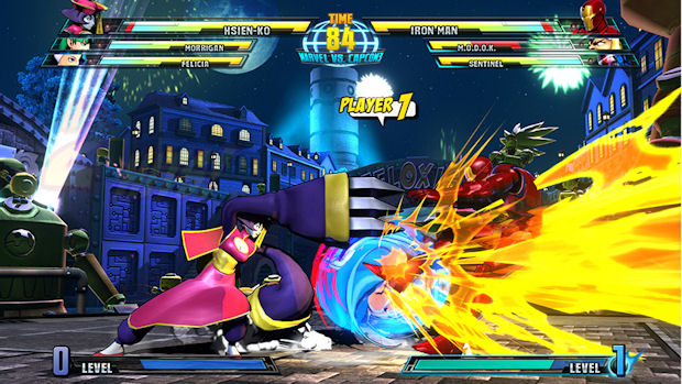 Marvel vs Capcom 3 Hsien-Ko screenshot