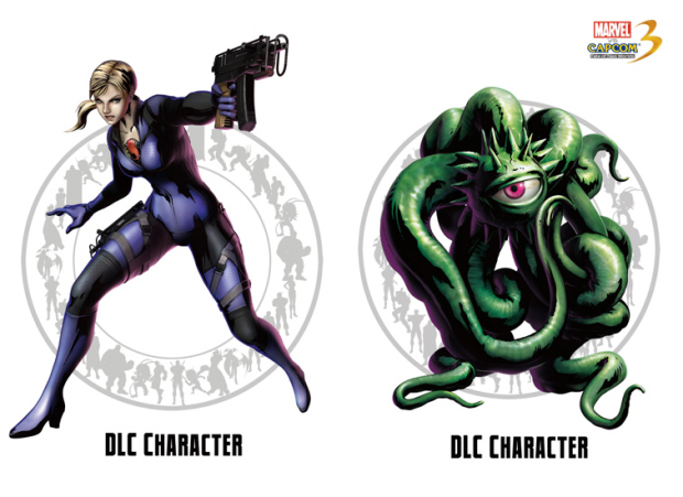 Marvel vs Capcom 3 Jill Valentine and Shuma Gorath downloadable content characters