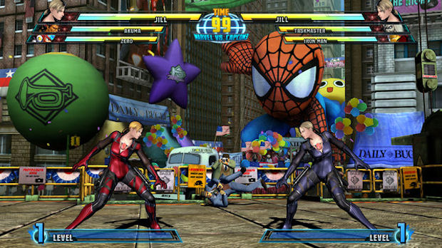 Marvel vs Capcom 3 Jill Valentine screenshot