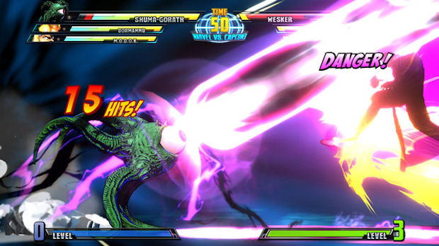 Marvel vs Capcom 3 Shuma Gorath screenshot