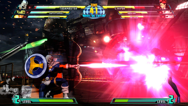 Marvel vs Capcom 3 Taskmaster screenshot