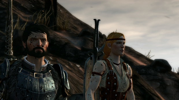 Dragon Age 2 Aveline Screenshot