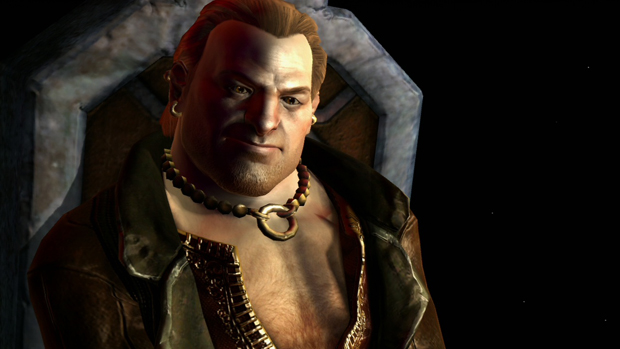 Dragon Age 2 Varric Screenshot