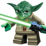Lego Star Wars 3 Yoda wallpaper