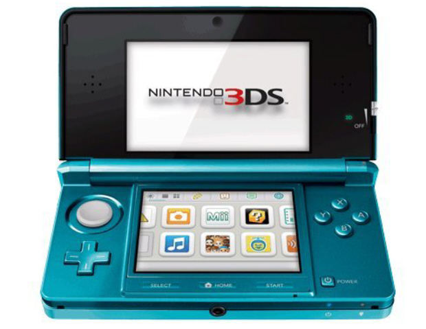 Buy the Aqua Blue Nintendo 3DS on Amazon