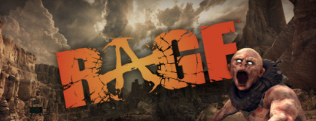 The logo for Rage