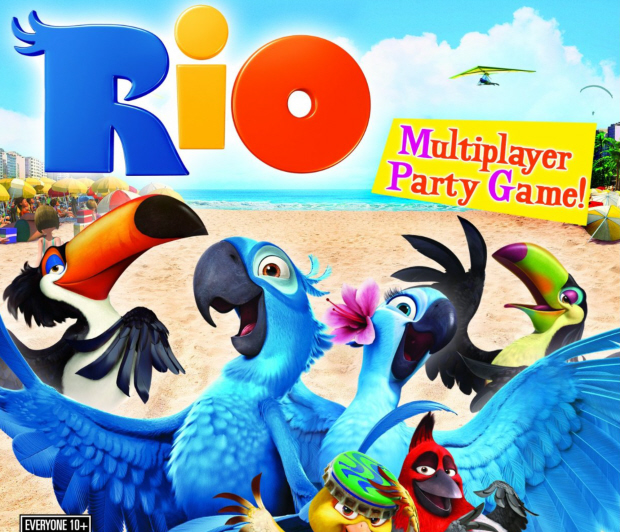 Rio walkthrough box artwork for the game based on the hit movie