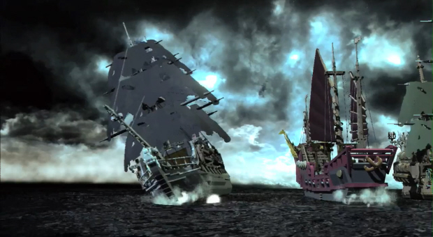 Lego Pirates of the Caribbean: The Video Game block ships ahoy!