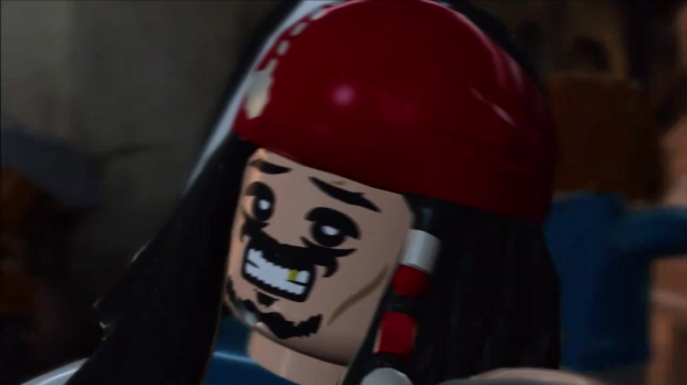 Lego Pirates of the Caribbean why so serious?