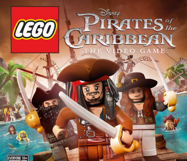 Lego Pirates of the Caribbean walkthrough box art