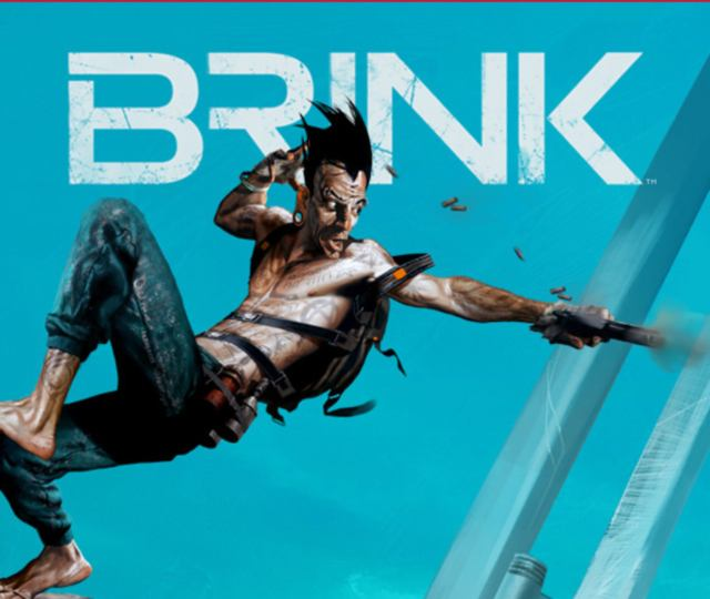 Brink Review Artwork