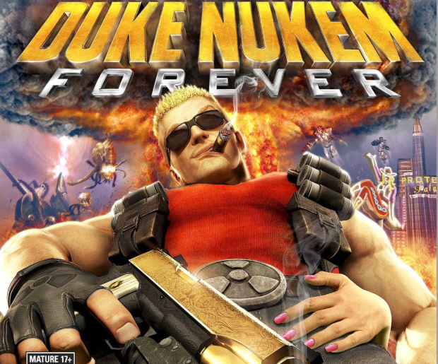Duke Nukem Forever walkthrough box art