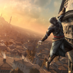 Assassin's Creed: Revelations Wallpaper Hanging By A Thread Ledge