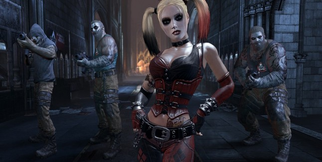 Batman: Arkham City Wallpaper of Sexy Harley Quin