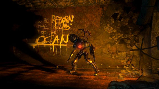 BioShock 2 Review Big Sister Screenshot