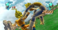 Dragon Ball Z Ultimate Tenkaichi characters screenshot of Goku and Vegeta