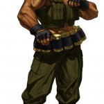 King of Fighters XIII Clark Still Character Artwork