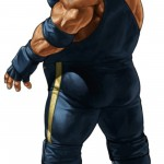 King Of Fighters XIII Raiden Character Artwork