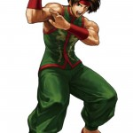 King of Fighters XIII Sie Kensou Character Artwork