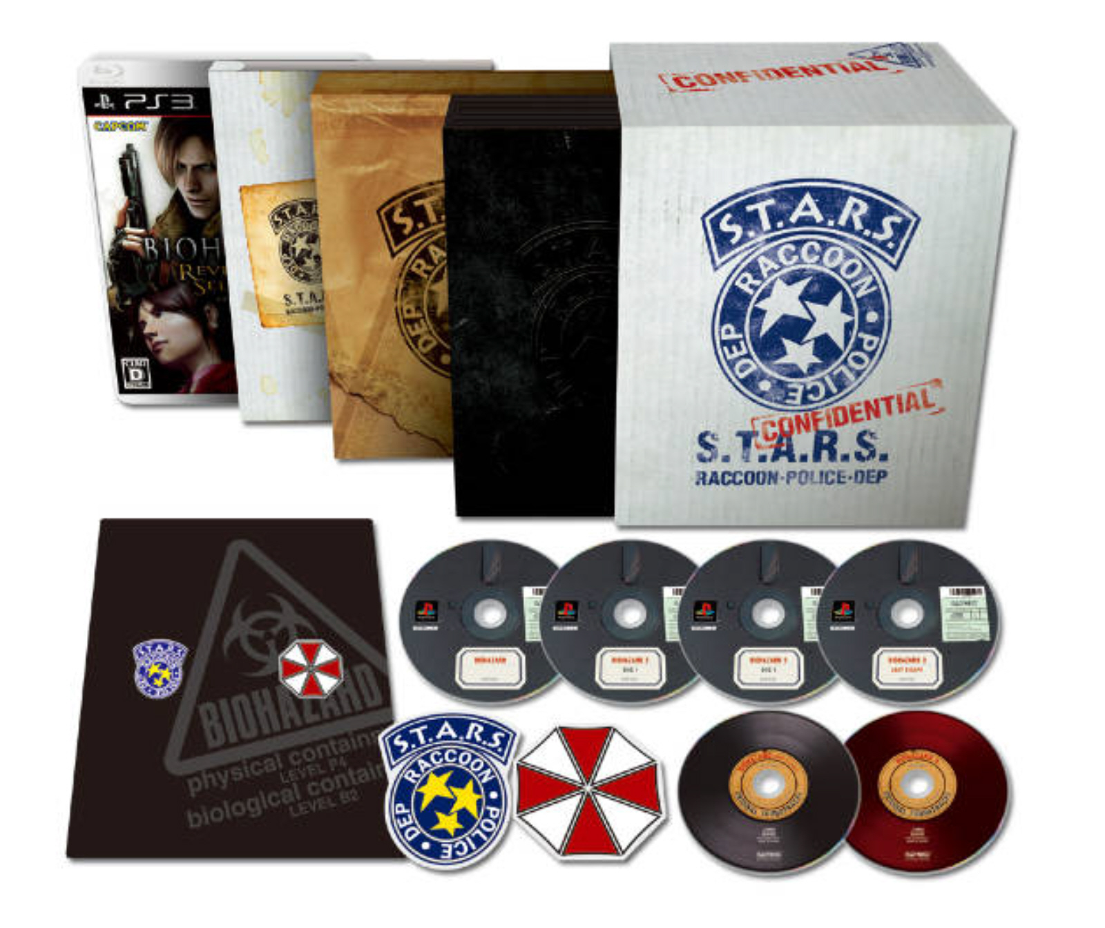 Resident Evil Collection box set in Japan (Biohazard)