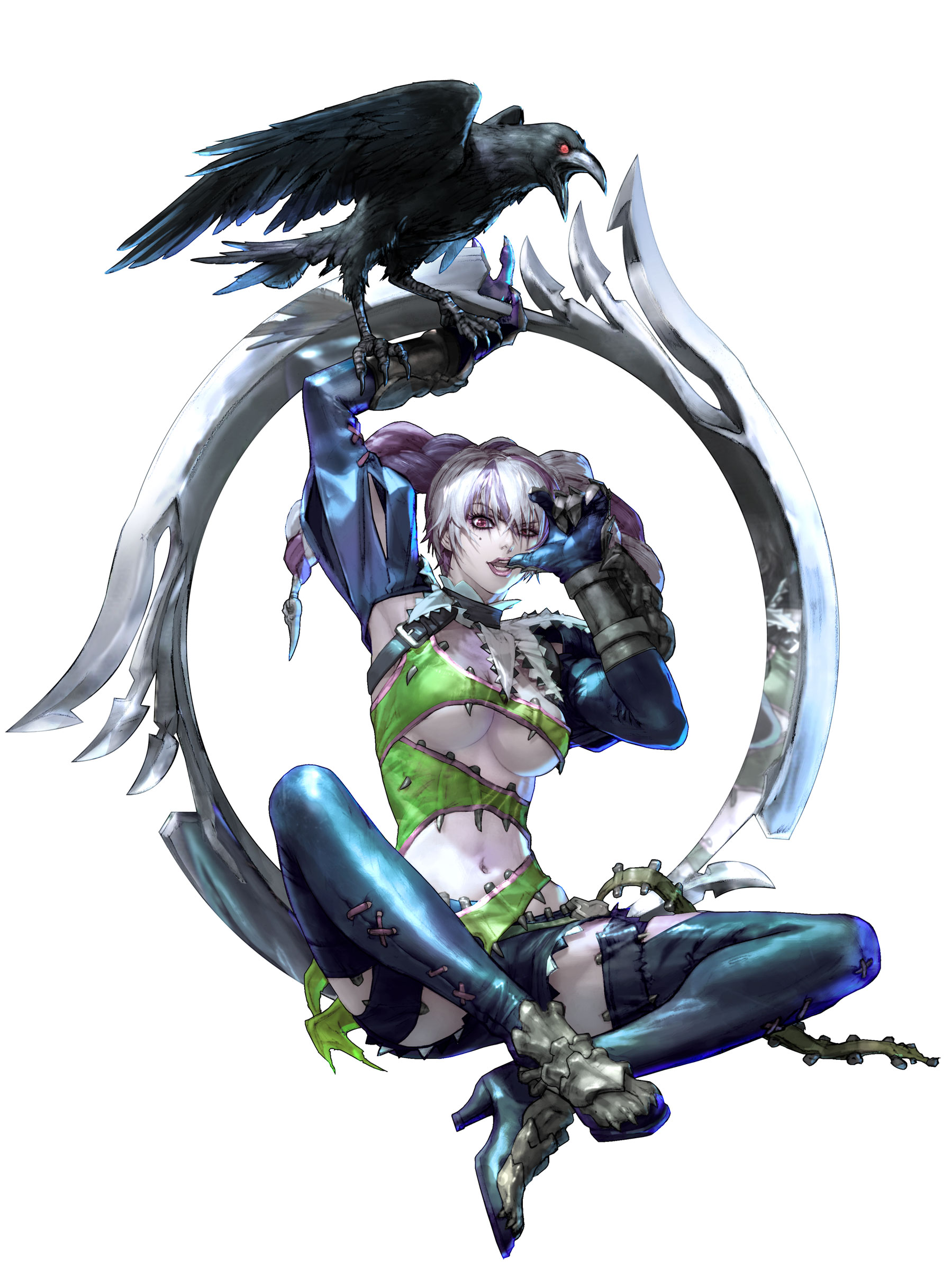 Soul Calibur 5 Tira Artwork