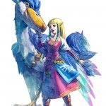 Zelda: Skyward Sword Wallpaper Princess Zelda Bird