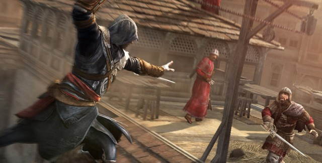 Assassin's Creed: Revelations Screenshot of Zip Attack