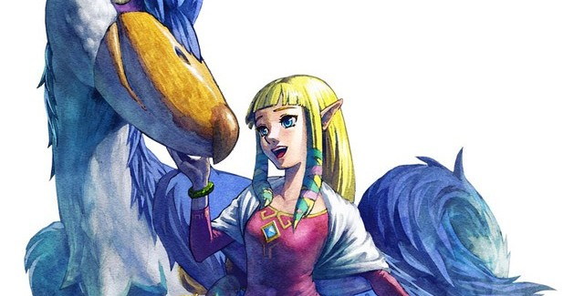 The Legend of Zelda Skyward Sword Artwork