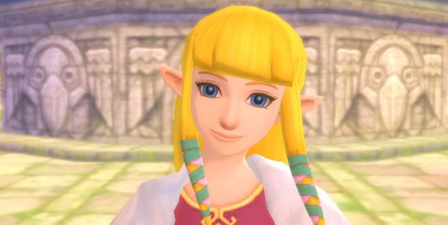 Skyward Sword Zelda screenshot