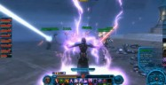 Star Wars: The Old Republic Screenshot of Force Lightning Gameplay Footage