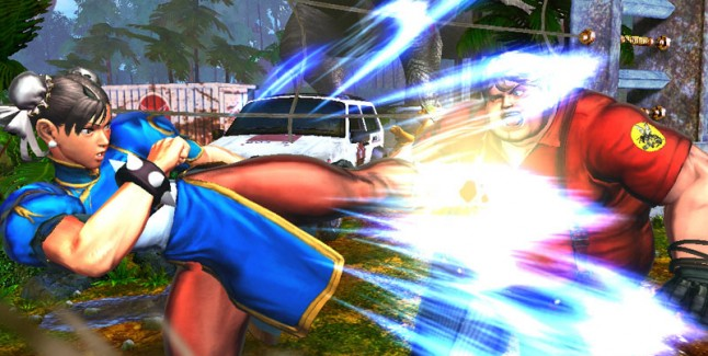 Street Fighter x Tekken Chun Li Character Screenshot