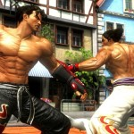 Tekken Tag Tournament 2 Jin vs Kazuya Characters Fight Screenshot