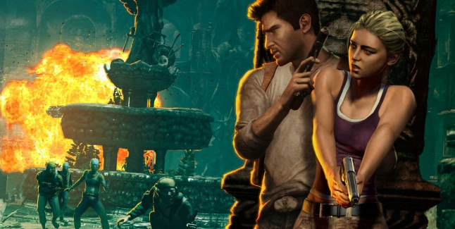 Uncharted Drake's Fortune Promo Image