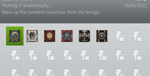 Gears of War 3 Achievements guide screenshot