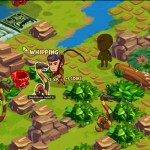 Adventure World Screenshot of RPG Snake Whipping Gameplay
