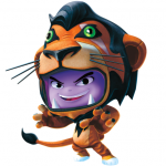 Disney Universe Scar Artwork