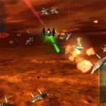 Star Fox 64 3D Screenshot - Soaring Above