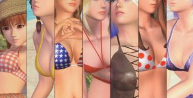 The Girls of Dead or Alive Art