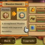 The Legend of Zelda: Skyward Sword Screenshot Showing the Weapon Upgrade System