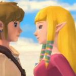 Zelda: Skyward Sword Link and Zelda In Love - K.I.S.S.I.N.G.